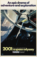 "Movie Posters:Science Fiction, 2001: A Space Odyssey (MGM, 1968). One Sheet (27"" X 41""). Style A.Offered in this lot is the scarce ""Cinerama"" style one sh..."