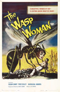"Movie Posters:Science Fiction, The Wasp Woman (Film Group, Inc., 1959). One Sheet (27"" X 41""). Oneof the best images in 50s science fiction/ horror cycle ..."