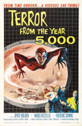 "Movie Posters:Science Fiction, Terror from the Year 5000 (American International, 1958). One Sheet(27"" X 41""). Fabulous artwork by Albert Kallis of Salome..."