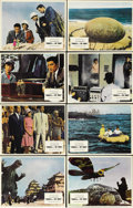 """Movie Posters:Action, Godzilla vs. the Thing (American International, 1964). Color Stills (8) (8"""" X 10""""). This fourth Godzilla and the second Moth... (Total: 8 Items)"""