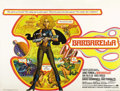 "Movie Posters:Science Fiction, Barbarella (Paramount, 1968). British Quad (30"" X 40""). Jane Fondastars as French comic strip hero Barbarella in one of the..."