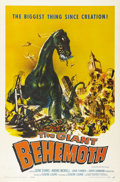 """Movie Posters:Science Fiction, The Giant Behemoth (Allied Artists, 1959). One Sheet (27"""" X 41"""").Joseph Smith did the fabulous artwork on this poster of th..."""