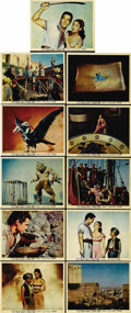 """Movie Posters:Fantasy, 7th Voyage of Sinbad (Columbia, 1958). Color Stills (11) (8"""" X 10""""). Ray Harryhausen's masterwork of stop-motion animation f... (Total: 11 Items)"""
