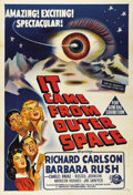 "Movie Posters:Science Fiction, It Came From Outer Space (Universal, 1953). Australian One Sheet(27"" X 40""). This classic sci-fi film stars Richard Carlson..."