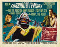 "Movie Posters:Science Fiction, Forbidden Planet (Loews - MGM, 1956). Half Sheet (22"" X 28"") StyleA. This sci-fi classic, based loosely on William Shakespe..."