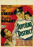 "Movie Posters:Crime, The Great O'Malley (Warner Brothers, 1937). Pre-War Belgian Poster(24"" X 33""). Pat O'Brien is the hard-nosed arm of the law..."