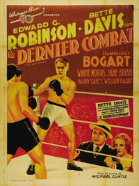 """Kid Galahad (Warner Brothers, 1937). French Grande (47"""" X 63""""). One of the most elusive original issue foreign..."""