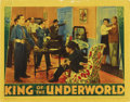 "Movie Posters:Crime, King of the Underworld (Warner Brothers, 1939). Lobby Card (11"" X 14""). This card shows Humphrey Bogart, Kay Francis, John A..."
