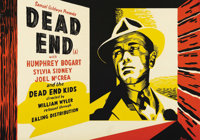 """Dead End (United Artists, R-1940s). British Half Sheet (19.5"""" X 28""""). One day in the life of an East Side New..."""