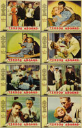 """Movie Posters:Mystery, Terror Aboard (Paramount, 1933). Lobby Card Set of 8 (11"""" X 14"""").When an ocean liner is found drifting with everyone aboard...(Total: 8 Items)"""