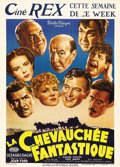 """Movie Posters:Western, Stagecoach (United Artists, 1939). Pre-War Belgian (24"""" X 32""""). Rare size for this classic John Ford Western. John Wayne mad..."""