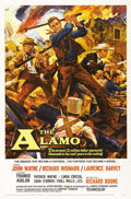 "Movie Posters:Western, The Alamo (United Artists, 1960). One Sheet (27"" X 41""). John Wayne stars and directs Richard Widmark, Laurence Harvey, Fran..."