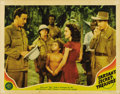 "Movie Posters:Adventure, Tarzan's Secret Treasure (MGM, 1941). Lobby Cards (2) (11"" X 14"").The first card features all three stars from the film; Jo...(Total: 2 Items)"