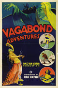 "Movie Posters:Short Subject, Vagabond Adventures (RKO, 1932). One Sheet (27"" X 41""). RKO-Pathe'in association with Van Beuren produced this travelog ser..."