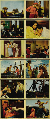 "Giant (Warner Brothers, 1956). Color Still Set of (12) (8"" X 10""). Based on Edna Ferber's bestselling novel, t..."