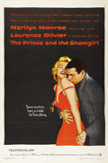 "Movie Posters:Romance, The Prince and the Showgirl (Warner Brothers, 1957). One Sheet (27"" X 41""). Marilyn Monroe stars in this Cinderella story ab..."