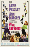 "Movie Posters:Musical, Viva Las Vegas (MGM, 1964) . One Sheet (27""X41"") and Lobby Card Setof 8 (11"" X 14""). As the truest of American Icons, Presl... (Total:9 Items)"