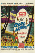 "Movie Posters:Elvis Presley, Blue Hawaii (Paramount, 1961). One Sheet (27"" X 41"") and Lobby CardSet of 8 (11"" X 14""). Don't miss this chance to own the ... (Total:9 Items)"