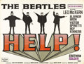 "Movie Posters:Musical, Help (United Artists, 1965). British Quad (30"" X 40""). The Beatleswere by 1965 the most famous individuals in the world. Th..."
