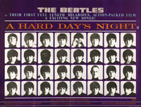 """A Hard Day's Night (United Artists, 1964). British Quad (30"""" X 40""""). This beautiful country-of-origin quad is..."""