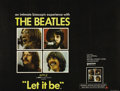 "Movie Posters:Musical, Let It Be (United Artists, 1970). British Quad (30"" X 40""). MichaelLindsay-Hogg's documentary records the Fab Four's final ..."