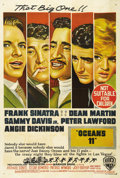 "Movie Posters:Drama, Ocean's 11 (Warner Brothers, 1960). Australian One Sheet (27"" X40""). The ""Rat Pack"" (Frank Sinatra, Dean Martin, Sammy Davi..."