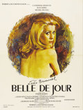 "Movie Posters:Drama, Belle De Jour (Allied Artists, 1967). French Petite (23.5"" X 31.5""). Catherine Deneuve plays a frigid woman who finds it dif..."