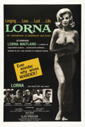 """Movie Posters:Drama, Lorna (Eve Productions, 1964). One Sheet (27"""" X 41""""). Nudie-Cutiedirector Russ Meyer started the second phase of his career..."""