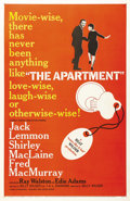 """Movie Posters:Drama, The Apartment (United Artists, 1960). One Sheet (27"""" X 41""""). Winner of six Academy Awards, including Best Picture and Best D..."""
