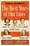 "Movie Posters:Drama, The Best Years of Our Lives (RKO, 1946). One Sheet (27"" X 41"").William Wyler directs this Best Picture Academy Award winner..."