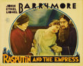 "Movie Posters:Drama, Rasputin and the Empress (MGM, 1932). Lobby Card (11"" X 14""). Lionel, John and Ethel Barrymore star in the only film they al..."