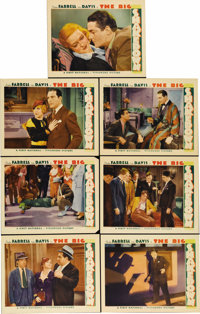 "The Big Shakedown (First National, 1934). Lobby Cards (7) (11"" X 14""). Pharmacist Charles Farrell gets involve..."