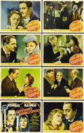 "Movie Posters:Romance, The Emperor's Candlesticks (MGM, 1937). Lobby Card Set of 8 (11"" X14""). A terrific set of cards with those wonderful MGM q... (Total:8 Items)"
