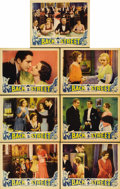 "Movie Posters:Drama, Back Street (Universal, 1932). Lobby Cards (7) (11"" X 14""). Thisfirst version of Fannie Hurst's novel about the bad timing ...(Total: 7 Items)"