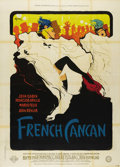 "Movie Posters:Musical, French Cancan (Franco-London Film, 1955). French Grande (47"" X 63"")Style B. Comedy/Musical from Jean Renoir chronicles the ..."