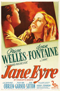 """Movie Posters:Romance, Jane Eyre (20th Century Fox, 1944). One Sheet (27"""" X 41""""). RobertStevenson directs Orson Welles, Joan Fontaine, Margaret O'..."""