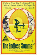 "Movie Posters:Sports, The Endless Summer (Cinema V, 1966). Australian One Sheet (27"" X 40""). Bruce Brown had been shooting surfing documentaries f..."
