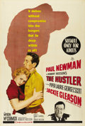 "Movie Posters:Sports, The Hustler (20th Century Fox, 1961). Australian One Sheet (27"" X 40""). Nice art of Paul Newman and Jackie Gleason on this o..."