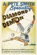 """Movie Posters:Short Subject, Diamond Demon (MGM, 1946). One Sheet (27"""" X 41""""). Produced bysports documentarian Pete Smith, this short focuses on the tal..."""