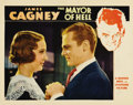 "Movie Posters:Crime, Mayor of Hell (Warner Brothers, 1933). Lobby Card (11"" X 14"").Gorgeous portrait card of James Cagney and Madge Evans. This ..."