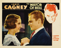 """Mayor of Hell (Warner Brothers, 1933). Lobby Card (11"""" X 14""""). Gorgeous portrait card of James Cagney and Madg..."""