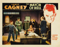 "Movie Posters:Crime, Mayor of Hell (Warner Brothers, 1933). Lobby Cards (2) (11"" X 14"").James Cagney stars in this Warner Brothers drama about a... (Total:2 Items)"