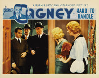 "Hard To Handle (Warner Brothers, 1933). Lobby Card (11"" X 14""). James Cagney is shown to the door of his girlf..."
