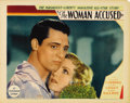 "Movie Posters:Drama, The Woman Accused (Paramount, 1933). Lobby Card (11"" X 14"").Offered in this lot is a beautiful portrait of a young Cary Gra..."