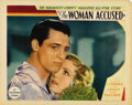 "Movie Posters:Drama, The Woman Accused (Paramount, 1933). Lobby Cards (3) (11"" X 14"").Cary Grant, Nancy Carroll and John Halliday star in this P...(Total: 3 Items)"