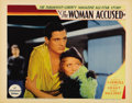 """Movie Posters:Drama, The Woman Accused (Paramount, 1933). Lobby Cards (3) (11"""" X 14""""). Just after being featured in """"She Done Him Wrong,"""" Cary Gr... (Total: 3 Items)"""