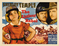 """The Littlest Rebel (Fox, 1935). Title Lobby Card (11"""" X 14""""). Shirley Temple stars in this adorable musical ab..."""