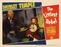 """The Littlest Rebel (Fox, 1935).. Lobby Cards (2) (11"""" X 14""""). These two cards picture 20th Century Fox's bigge..."""