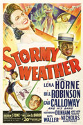 "Movie Posters:Musical, Stormy Weather (20th Century Fox, 1943). One Sheet (27"" X 41"").Awesome stone litho artwork for one of the two best 1940s Al..."
