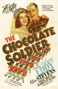 "Movie Posters:Musical, The Chocolate Soldier (MGM, 1941). One Sheet (27"" X 41""). Nelson Eddy tests his wife Rise Stevens' fidelity by disguising hi..."